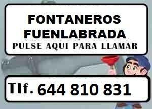 Fontaneros Fuenlabrada Madrid Urgentes
