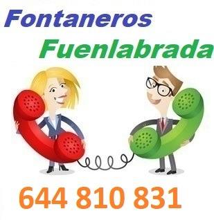 Telefono de la empresa fontaneros Fuenlabrada