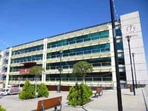 Ayuntamiento en la localidad de Fuenlabrada